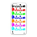 Download Upload Web Icon Internet Apple iPhone 6/6S White Enamel Case Front