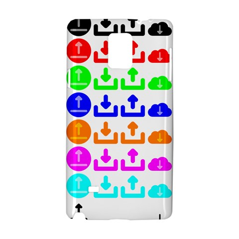 Download Upload Web Icon Internet Samsung Galaxy Note 4 Hardshell Case