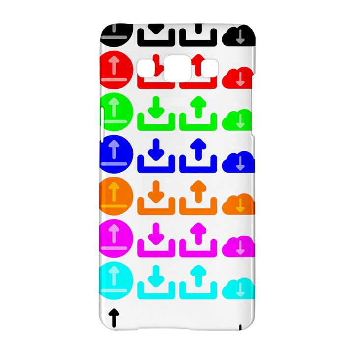 Download Upload Web Icon Internet Samsung Galaxy A5 Hardshell Case