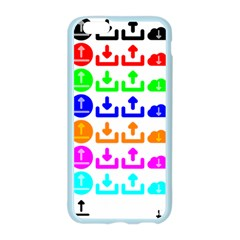 Download Upload Web Icon Internet Apple Seamless iPhone 6/6S Case (Color)