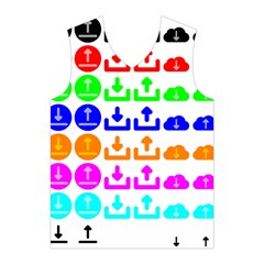 Download Upload Web Icon Internet Men s Basketball Tank Top