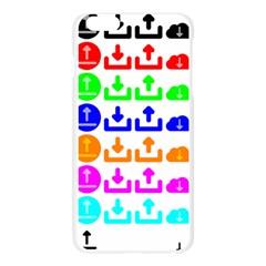 Download Upload Web Icon Internet Apple Seamless iPhone 6 Plus/6S Plus Case (Transparent)