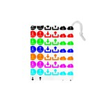 Download Upload Web Icon Internet Drawstring Pouches (XS)  Front