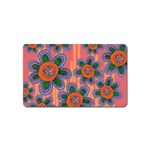 Colorful Floral Dream Magnet (Name Card) Front