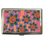 Colorful Floral Dream Cigarette Money Cases Front
