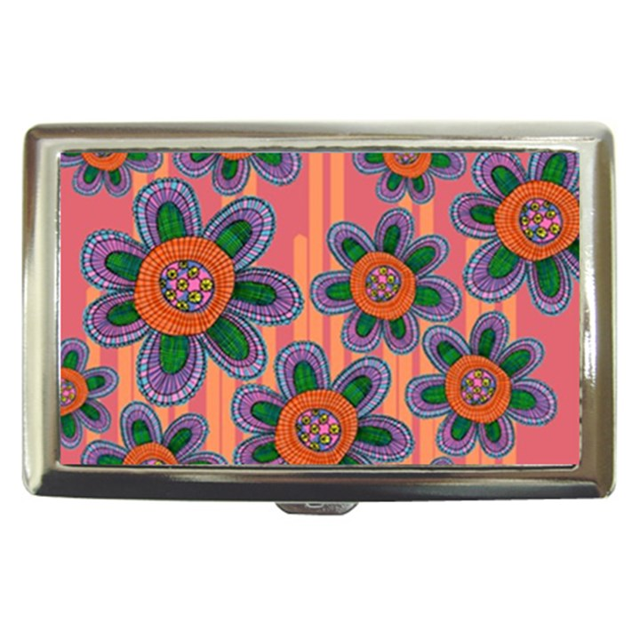 Colorful Floral Dream Cigarette Money Cases