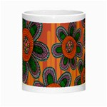 Colorful Floral Dream Night Luminous Mugs Center