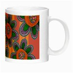 Colorful Floral Dream Night Luminous Mugs Right