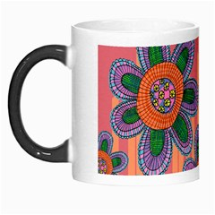 Colorful Floral Dream Morph Mugs