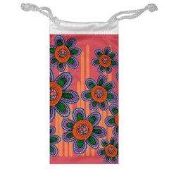 Colorful Floral Dream Jewelry Bags