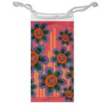 Colorful Floral Dream Jewelry Bags Front