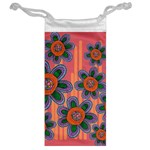 Colorful Floral Dream Jewelry Bags Back