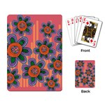 Colorful Floral Dream Playing Card Back