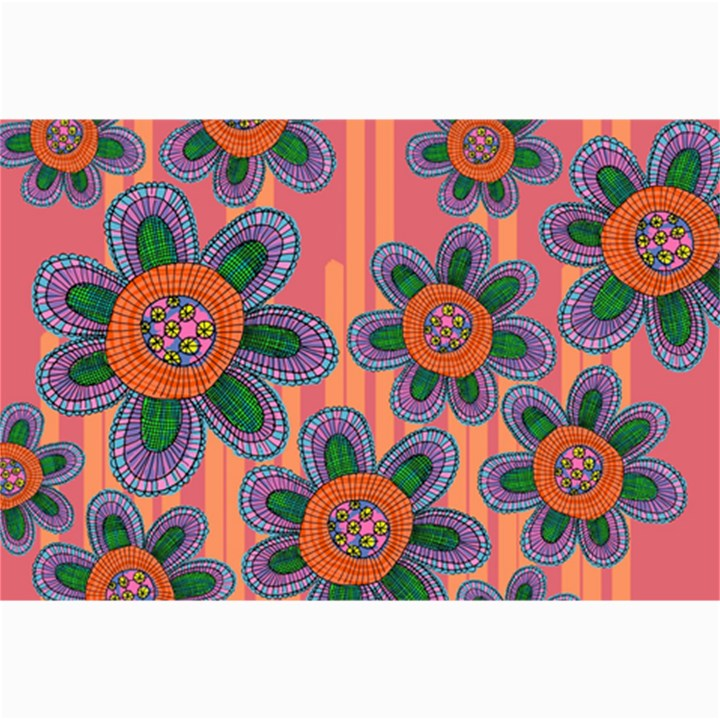 Colorful Floral Dream Collage Prints
