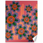 Colorful Floral Dream Canvas 12  x 16   16 x12 Canvas - 1