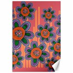 Colorful Floral Dream Canvas 12  x 18   18 x12 Canvas - 1