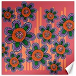Colorful Floral Dream Canvas 20  x 20   20 x20 Canvas - 1