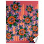 Colorful Floral Dream Canvas 36  x 48   48 x36 Canvas - 1