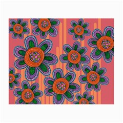 Colorful Floral Dream Small Glasses Cloth (2-Side)