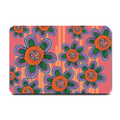 Colorful Floral Dream Small Doormat