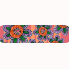 Colorful Floral Dream Large Bar Mats