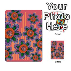 Colorful Floral Dream Multi Purpose Cards (rectangle)