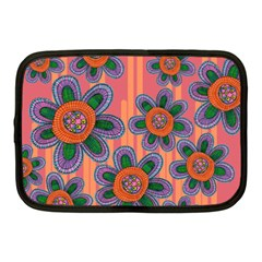 Colorful Floral Dream Netbook Case (medium)