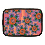Colorful Floral Dream Netbook Case (Medium)  Front