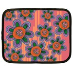 Colorful Floral Dream Netbook Case (Large) Front