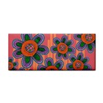 Colorful Floral Dream Hand Towel Front