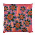 Colorful Floral Dream Standard Cushion Case (Two Sides) Front