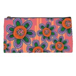 Colorful Floral Dream Pencil Cases Front