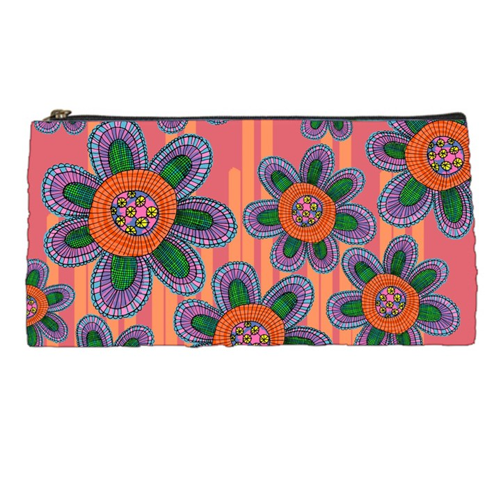 Colorful Floral Dream Pencil Cases