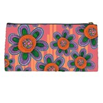 Colorful Floral Dream Pencil Cases Back