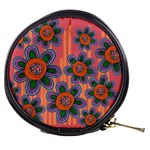 Colorful Floral Dream Mini Makeup Bags Front