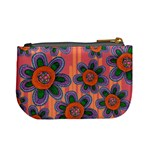 Colorful Floral Dream Mini Coin Purses Back