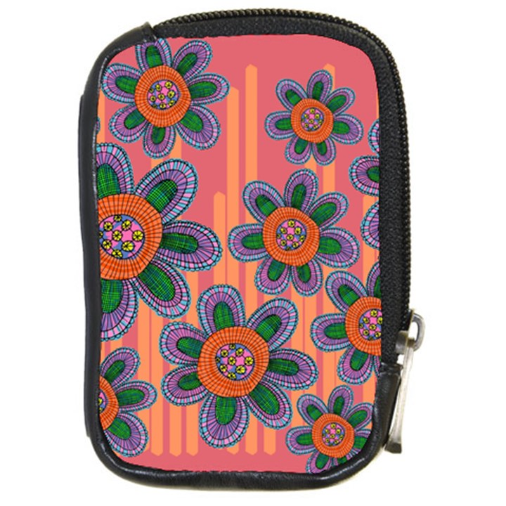 Colorful Floral Dream Compact Camera Cases