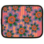 Colorful Floral Dream Netbook Case (XL)  Front