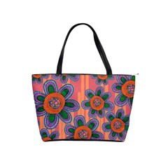 Colorful Floral Dream Shoulder Handbags