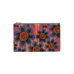 Colorful Floral Dream Cosmetic Bag (Small)  Front