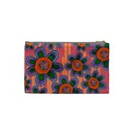 Colorful Floral Dream Cosmetic Bag (Small)  Back
