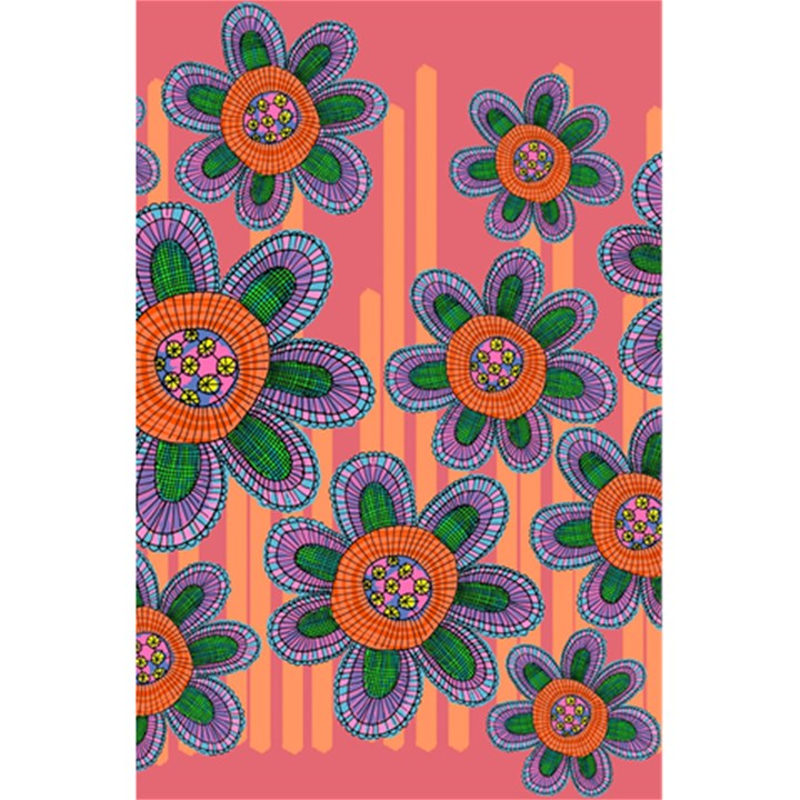 Colorful Floral Dream 5.5  x 8.5  Notebooks