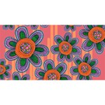 Colorful Floral Dream Magic Photo Cubes Long Side 1