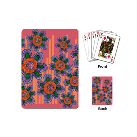 Colorful Floral Dream Playing Cards (Mini)