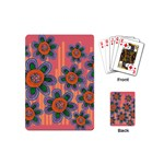 Colorful Floral Dream Playing Cards (Mini)  Back