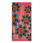 Colorful Floral Dream Shower Curtain 36  x 72  (Stall)  33.26 x66.24 Curtain