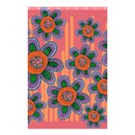 Colorful Floral Dream Shower Curtain 48  x 72  (Small)  42.18 x64.8 Curtain