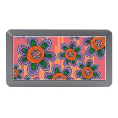 Colorful Floral Dream Memory Card Reader (mini)