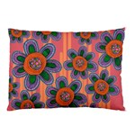Colorful Floral Dream Pillow Case (Two Sides) Front