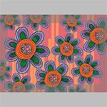 Colorful Floral Dream Deluxe Canvas 18  x 12   18  x 12  x 1.5  Stretched Canvas